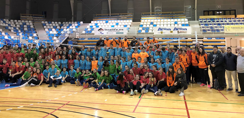Altea, seu del Campionat Autonòmic de Seleccions Provincials de Voleibol