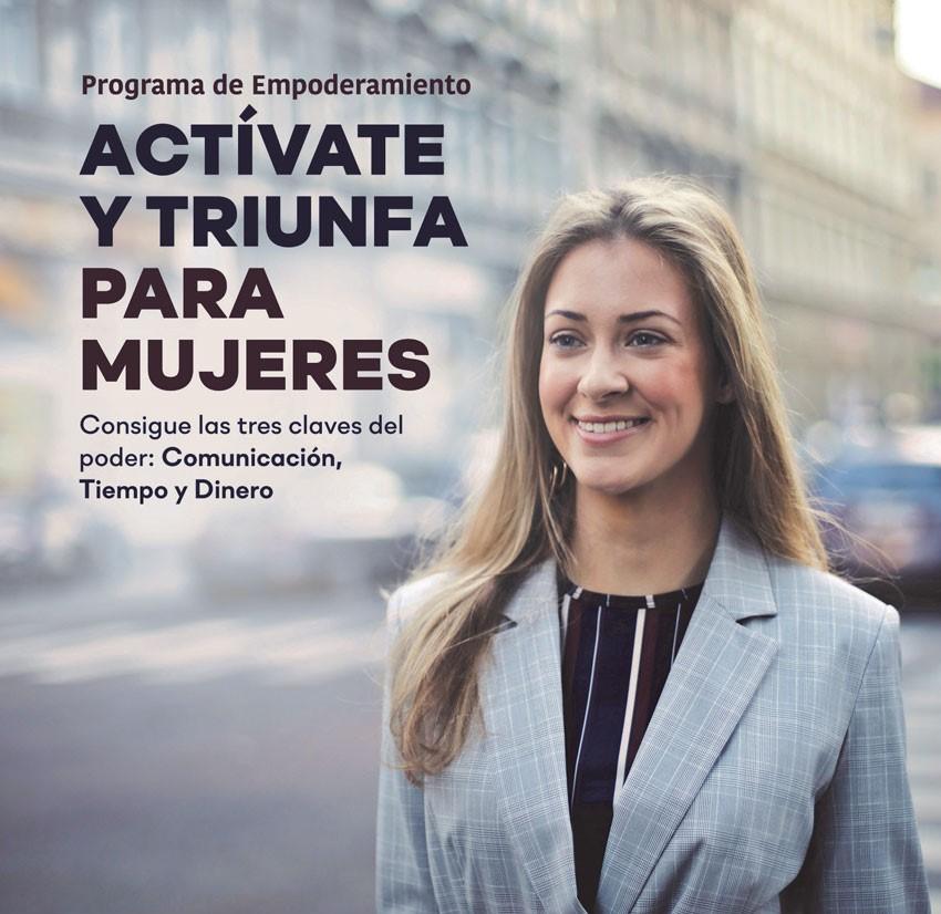 """Programa d'empoderament dirigit a dones """"Actívate y triunfa"""""""