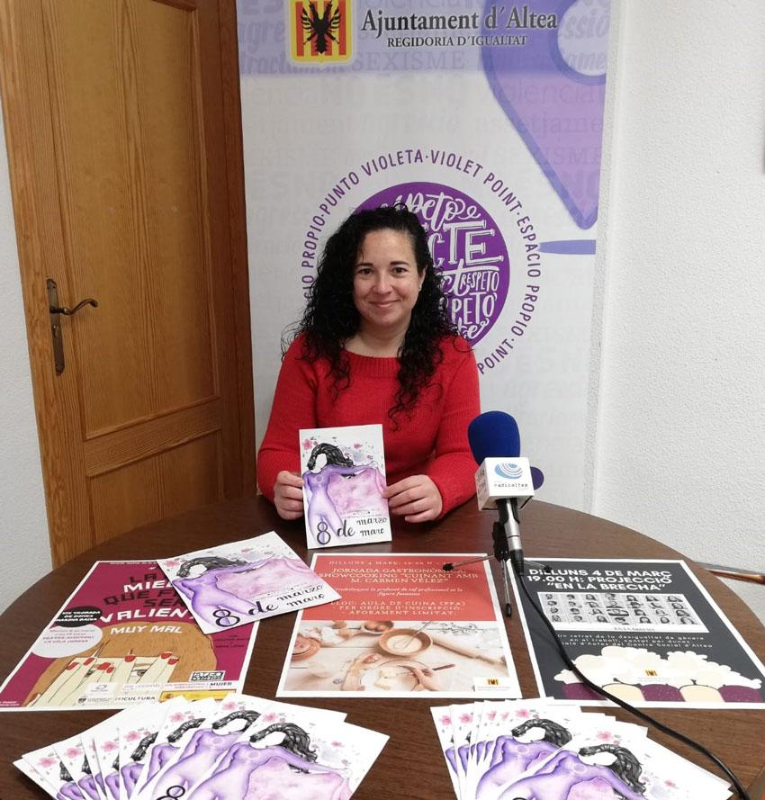 Altea celebrarà el Dia Internacional de la Dona amb un complet programa d'activitats