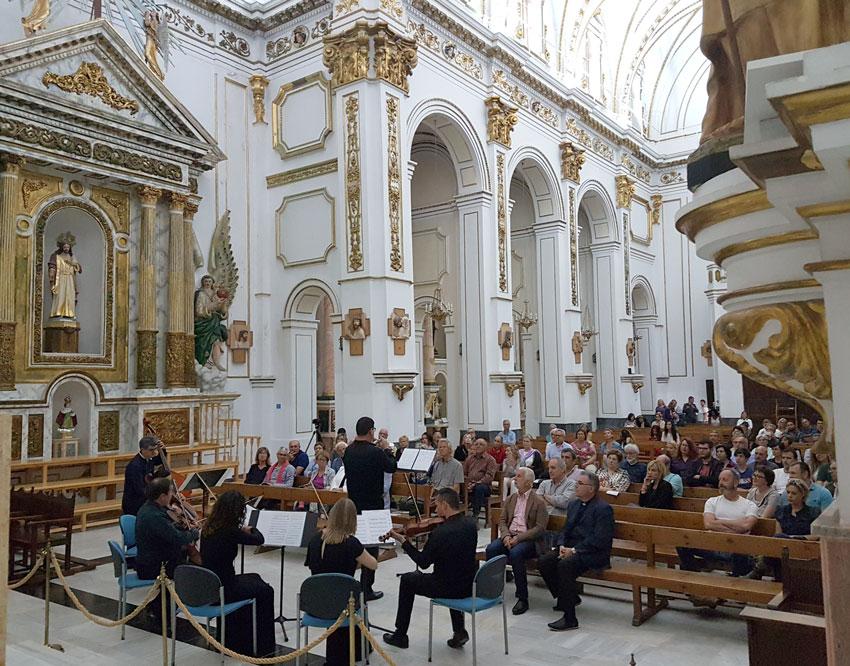 La música antiga torna a reunir a un nombrós públic a Altea