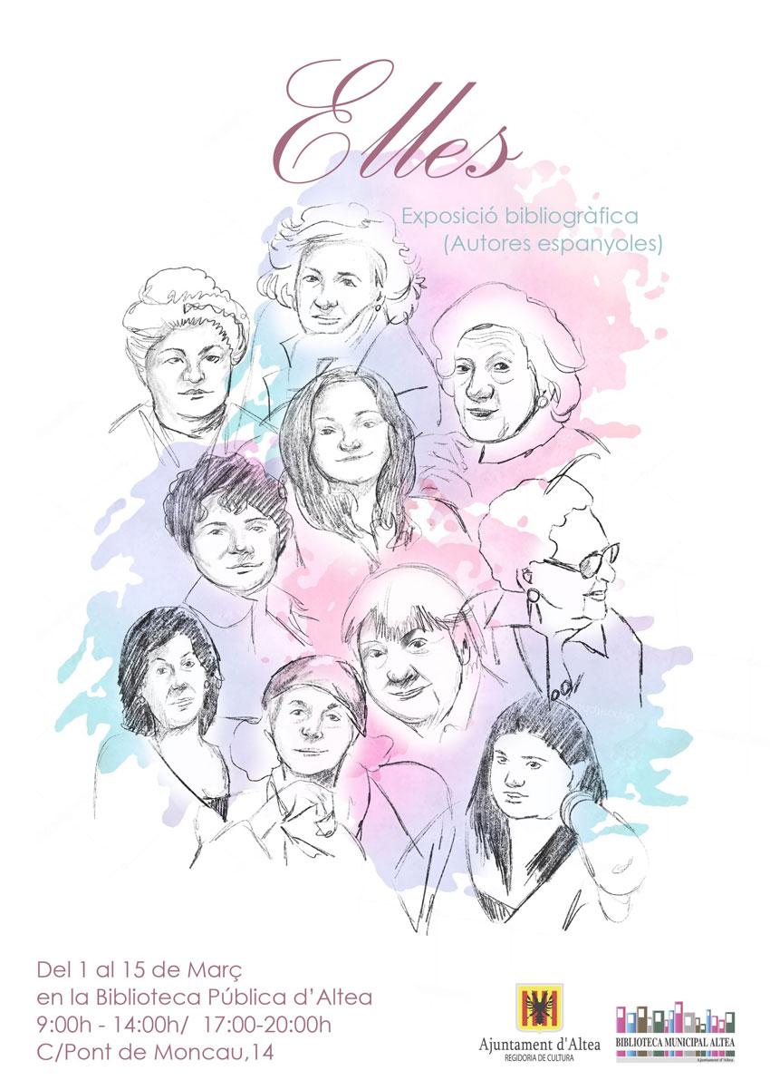 Des de l'1 fins al 15 de març, estarà disponible a la Casa de Cultura, un llistat de llibres d'autores espanyoles. Passa i tria el teu!