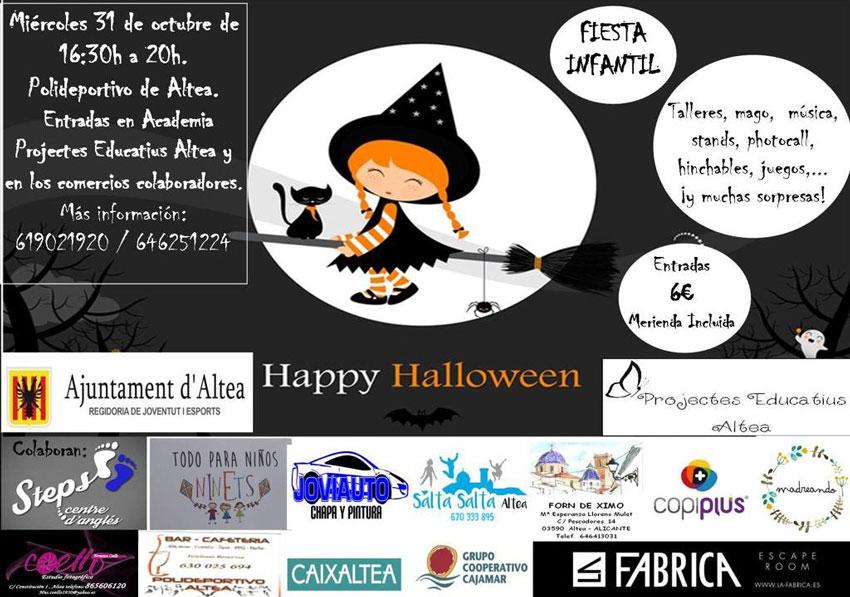 Festa infantil amb motiu de Halloween