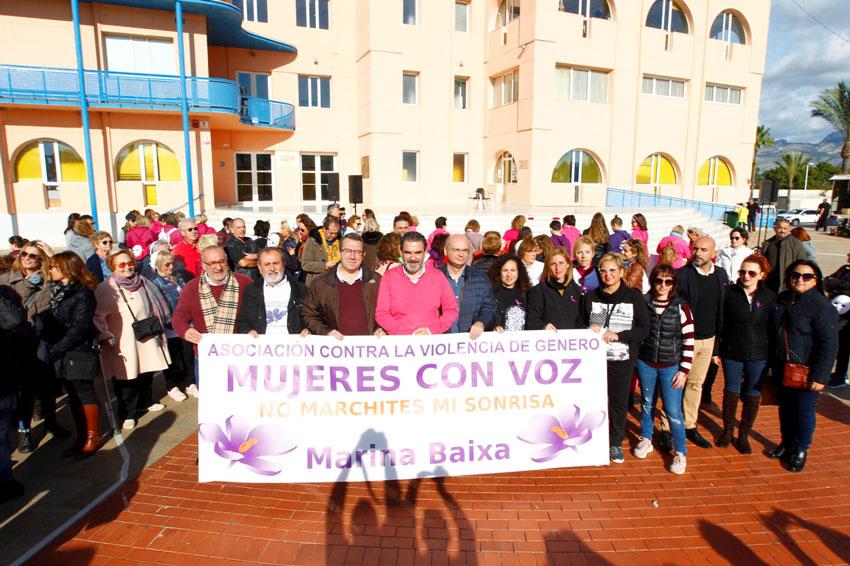 Igualtat participa en la II Marxa Comarcal contra la Violència de Gènere