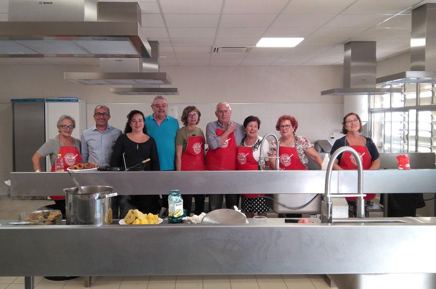 Segona edició del taller de cuina en la Setmana del Major