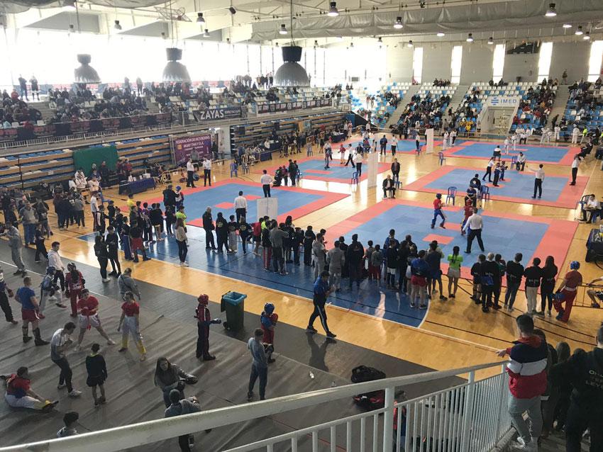 Èxit d'assistència en el Campionat de la Comunitat Valenciana de Taekwon-do ITF i Kickboxing