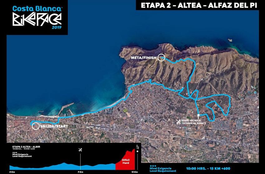 Altea alberga demà la segona etapa de la Costa Blanca Bike Race, la contrarellotge amb eixida des de la Plaça de l'Església
