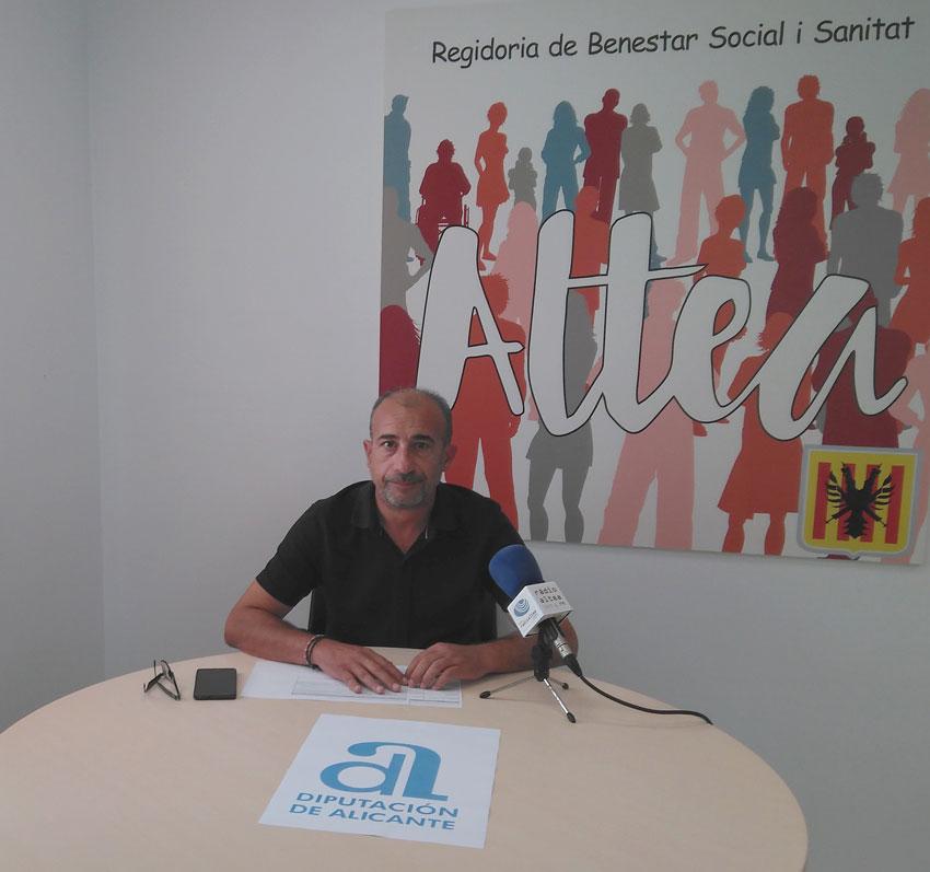 El Departamento de Bienestar Social y Sanidad da a conocer las subvenciones concedidas por la Diputación de Alicante