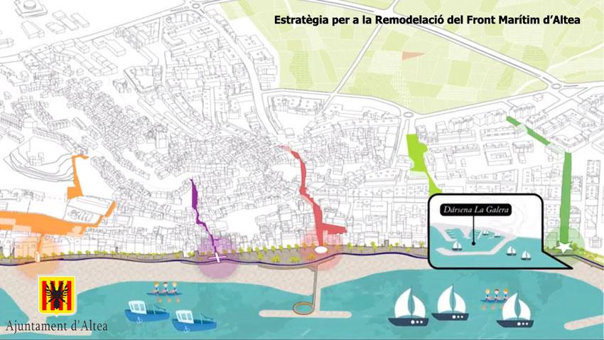L'Estratègia per a la Regeneració de la Façana Marítima, destacada pel Col·legi d'Arquitectes en la seua Mostra d'Arquitectura Recent