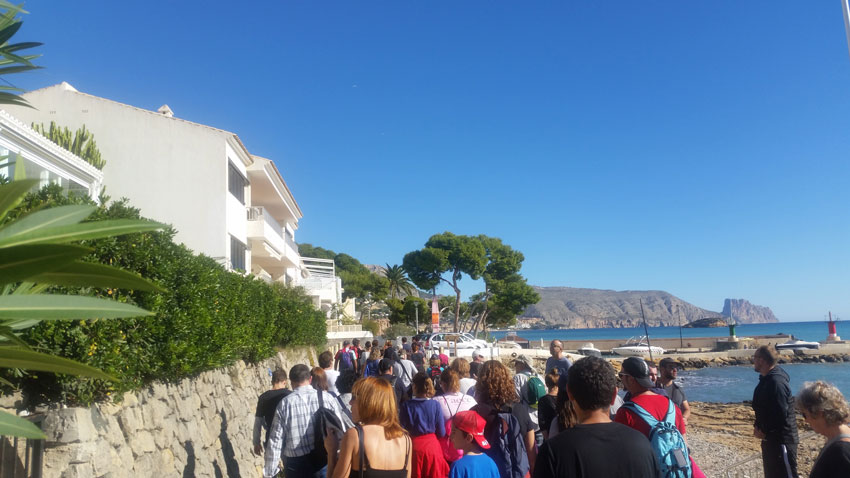 Èxit d'assistència a la nova visita guiada organitzada per Turisme