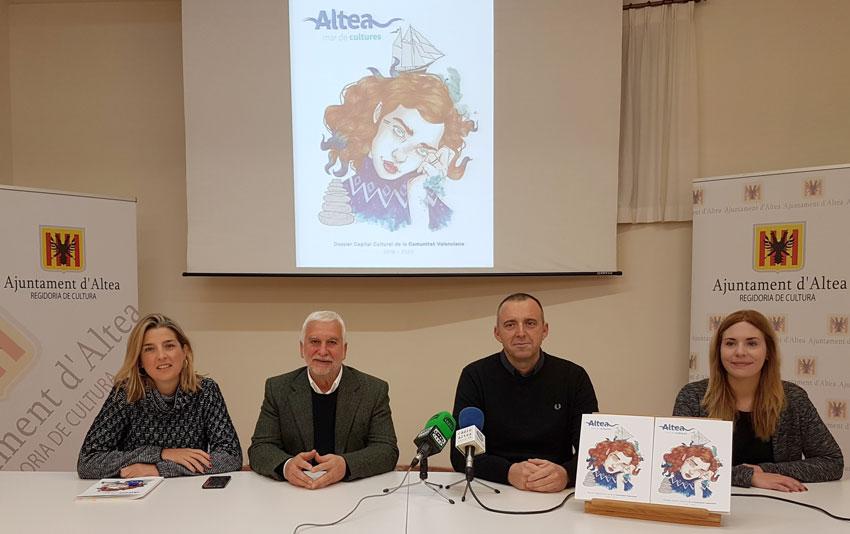 Altea presenta candidatura a Capital Cultural Valenciana