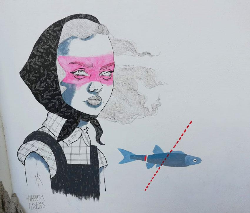 Altea es suma amb un mural a la reivindicació de la figura femenina en la literatura