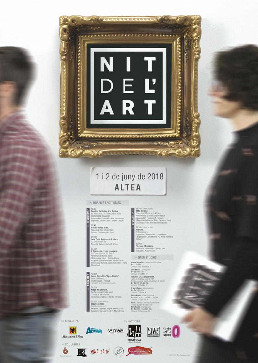 Altea estrena mes de juny amb les activitats de la Nit de l'Art