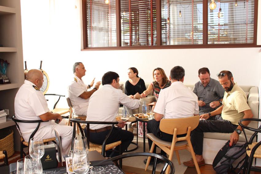 Turisme i Medi Ambient es reuneixen amb el sector nàutic del municipi