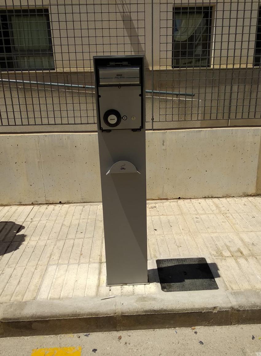 Altea ja disposa d'un punt de recàrrega per a vehicles elèctrics en el Centre de Salut