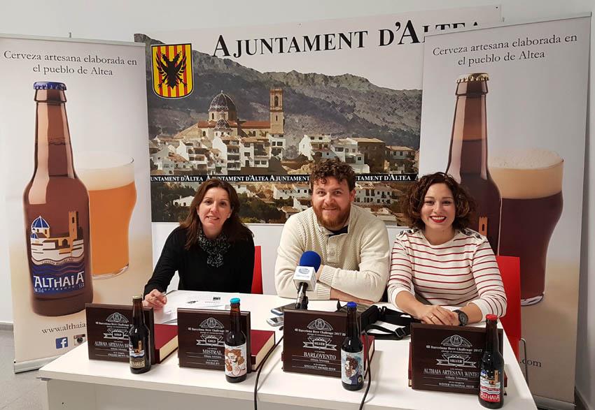 Comerç felicita Cerveses Althaia pels reconeixements obtinguts