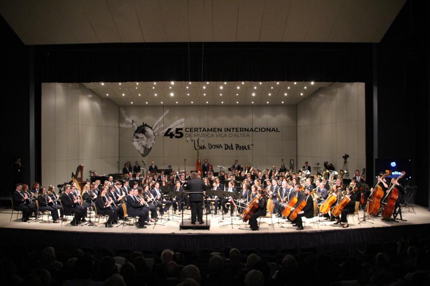La Societat Filharmònica Alteanense inicia la inscripció de la 46 Edició del Certamen Internacional de Música Vila d'Altea