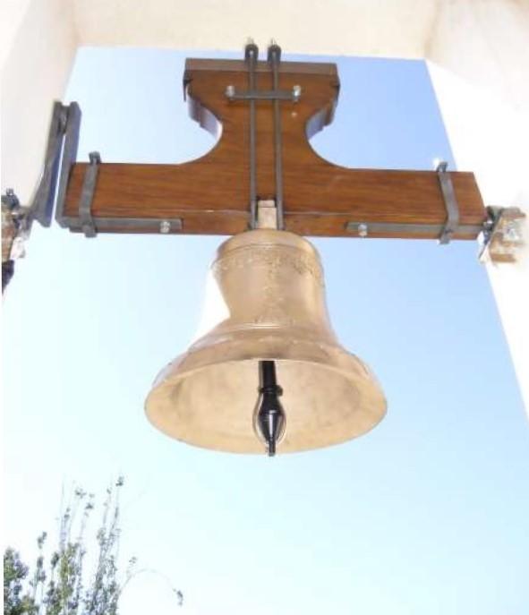 Infraestructures restaura la campana de l'Ermita de Sant Isidre