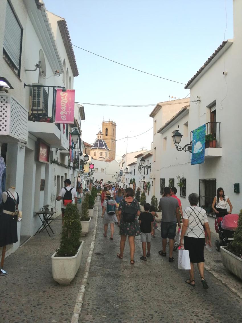 Altea manté el seu posicionament en el Baròmetre de Xarxes Socials de les destinacions turístiques de la Comunitat Valenciana