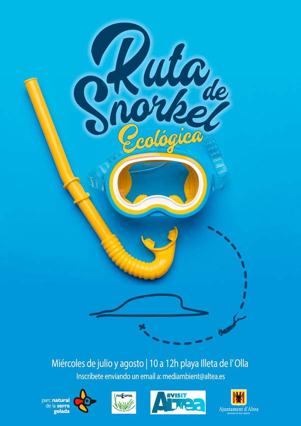 Medi Ambient i Turisme organitzen rutes guiades de Snorkel a l'Olla