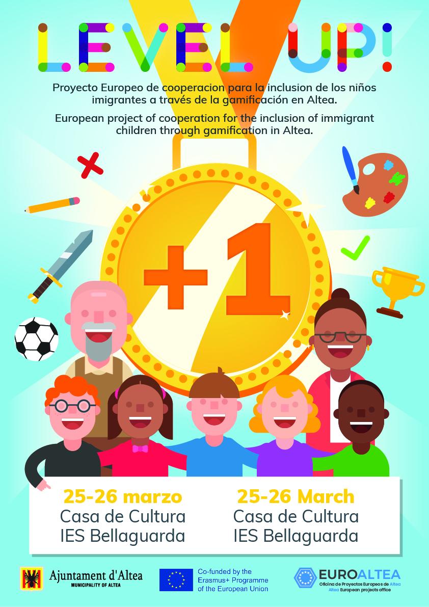 Altea acoge los días 25 y 26 de marzo la jornada inaugural del proyecto 'Level Up!'