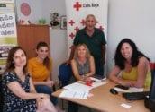 Ajuntament i Creu Roja segueixen col•laborant en el foment de l'ocupació