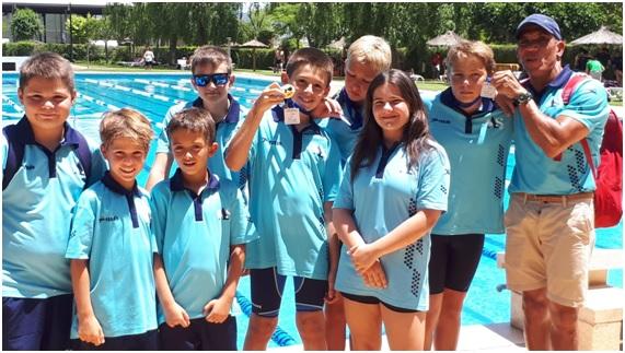 El Club de Natació Adrenalin Sport Altea es porta dos medalles a casa