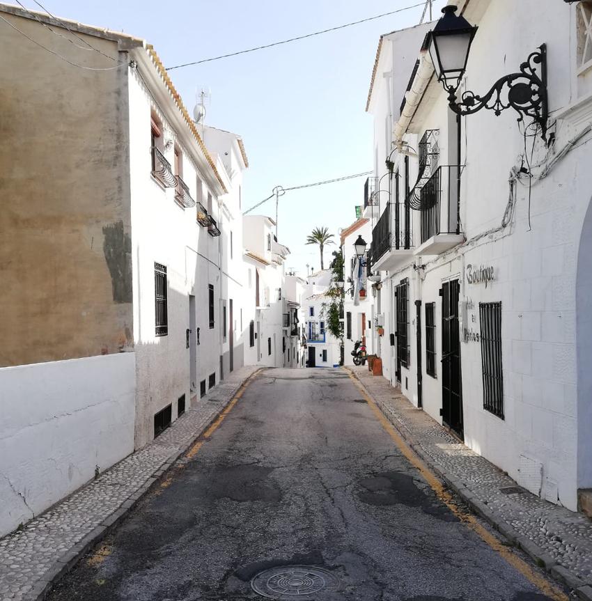 Las calles Sol y Portal Vell verán renovadas sus infraestructuras una vez el proyecto reciba el preceptivo informe de Patrimonio