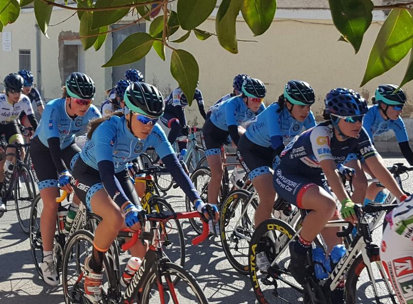 Cap de setmana intens per a les ciclistes de l'equip Cronobike-Grupo Sime