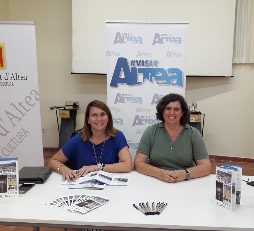 Turismo recoge en un folleto las distintas actividades que van a tener lugar en Altea durante el verano