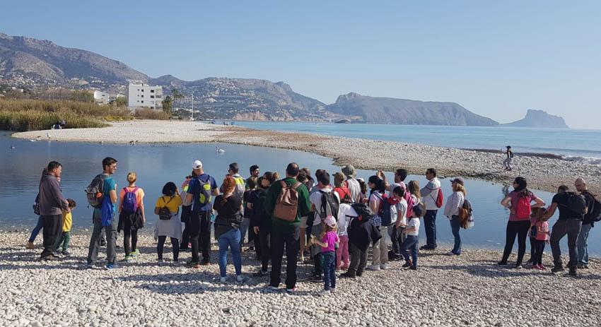 Turisme finalitza amb èxit les visites guiades d'hivern duplicant els assistents