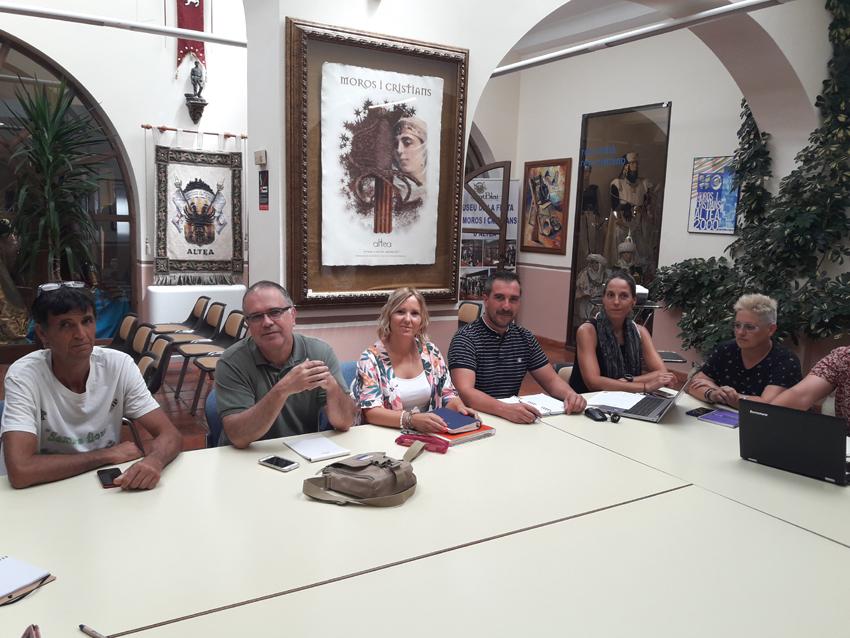 El grup de treball local URBACT celebra la seua cinquena reunió