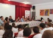 """El nou equip de govern s'interessa pel projecte de Creu Roja i el CEIP Garganes """"Ciutat 11"""""""