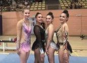 Triple podi per a les gimnastes alteanes en el Trofeu Llebei