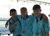 Tres medalles per als integrants d'Adrenalin Sport en el Trofeu Diputació d'Alacant de Natació Base