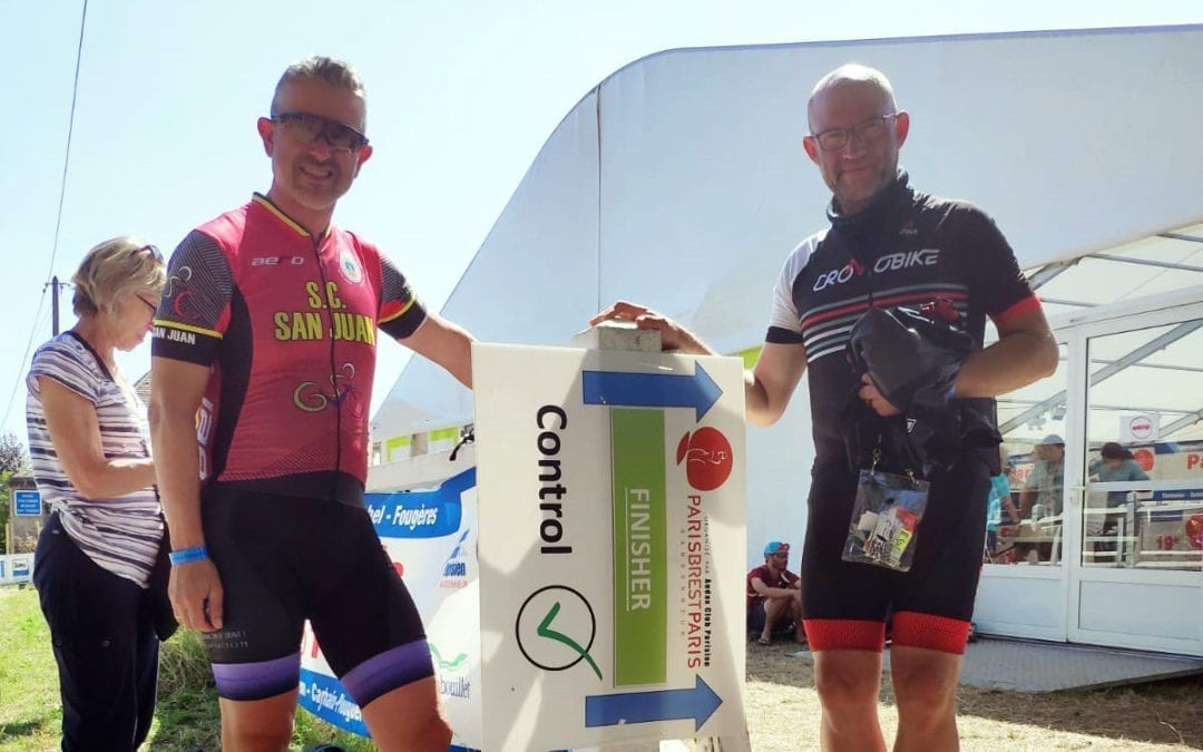 El ciclista alteà Pau Rodrigo completa els 1.200 km de la prova París-Brest-París