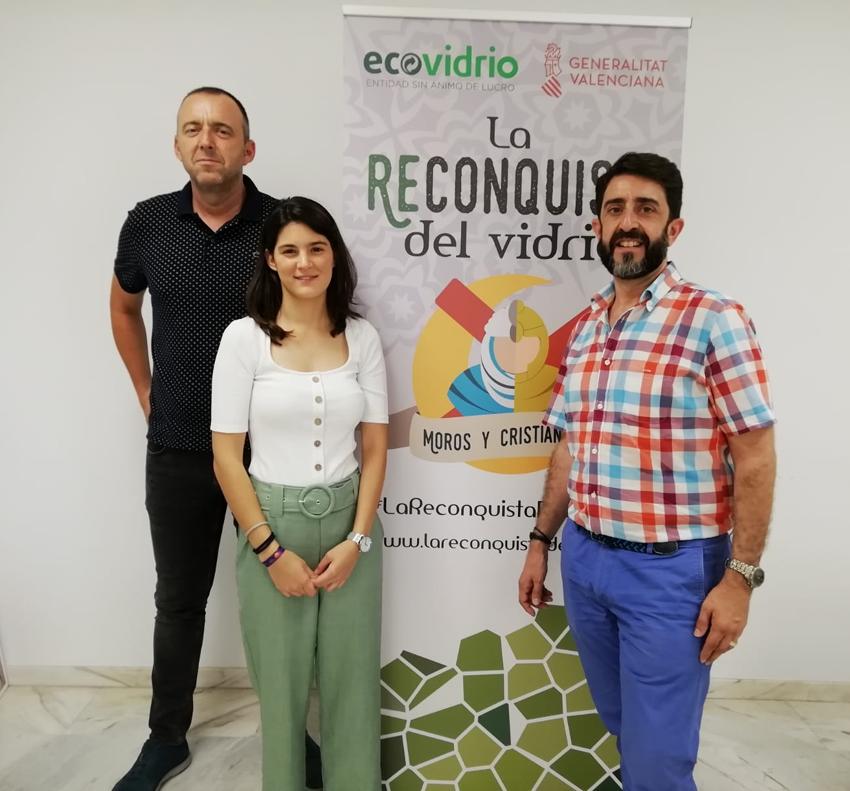 Ecovidrio i l'Ajuntament d'Altea fomenten el reciclatge de vidre durant les festes patronals