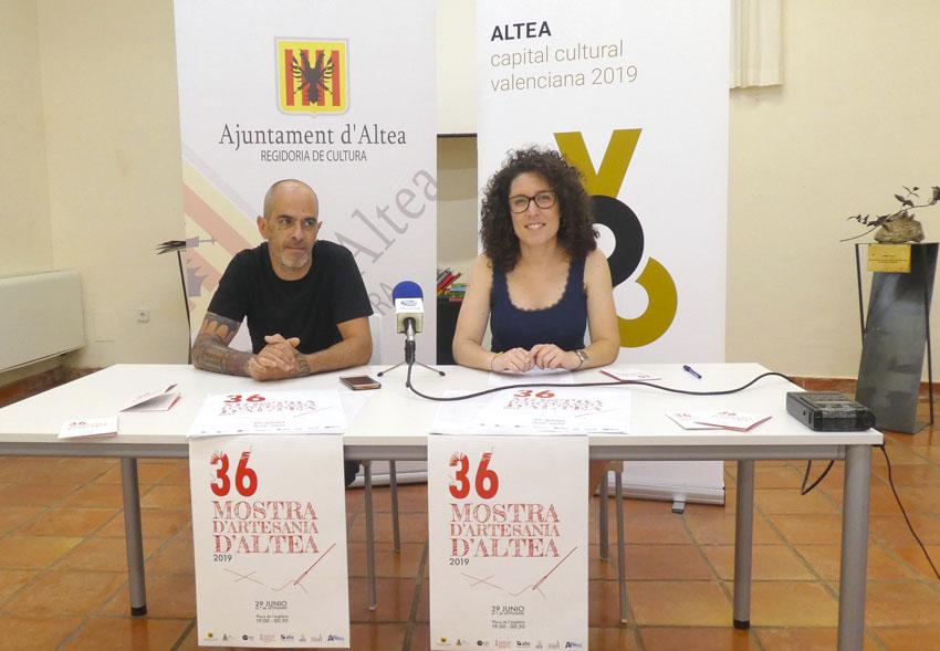 La 36 edició de la Mostra d'Artesania es celebrarà del 29 de juny a l'1 de setembre