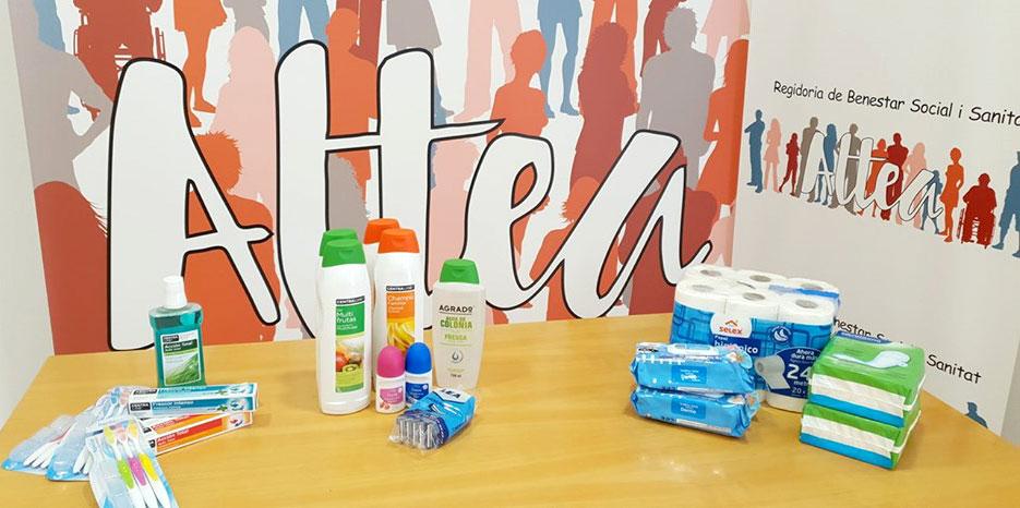 Benestar Social posa en marxa una campanya de recollida de productes d'higiene personal per al Baix Segura