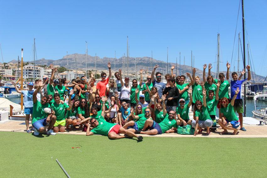 El Club Nàutic d'Altea acull el '18 Trofeu de Rem Club Nàutic d'Altea'