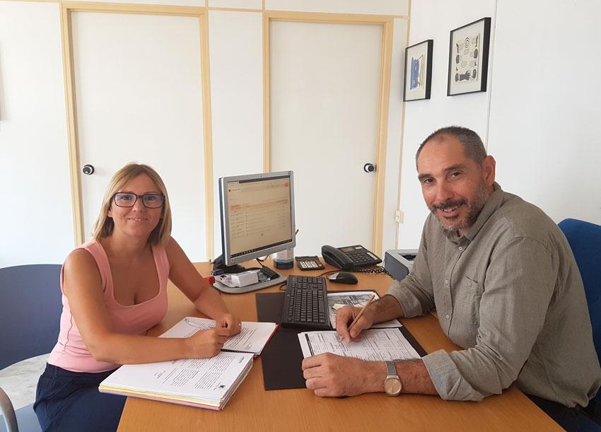 Ajuntament i LABORA promouen l'ocupació a Altea través de la contractació de col•lectius vulnerables