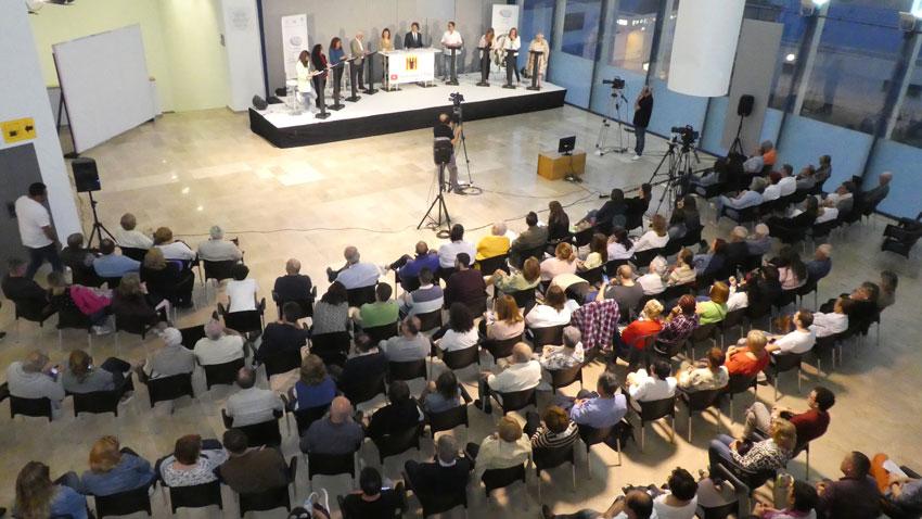 Altea es bolca en el primer debat de les candidates i candidats a les eleccions municipals