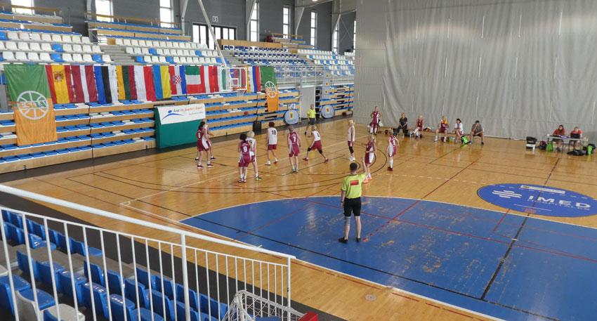 Altea, seu del Torneo Europeo de Veteranos de Baloncesto