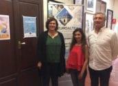 Una jove de Portugal s'incorpora a l'Oficina de Turisme a través del programa de pràctiques formatives 'Eurodisea'