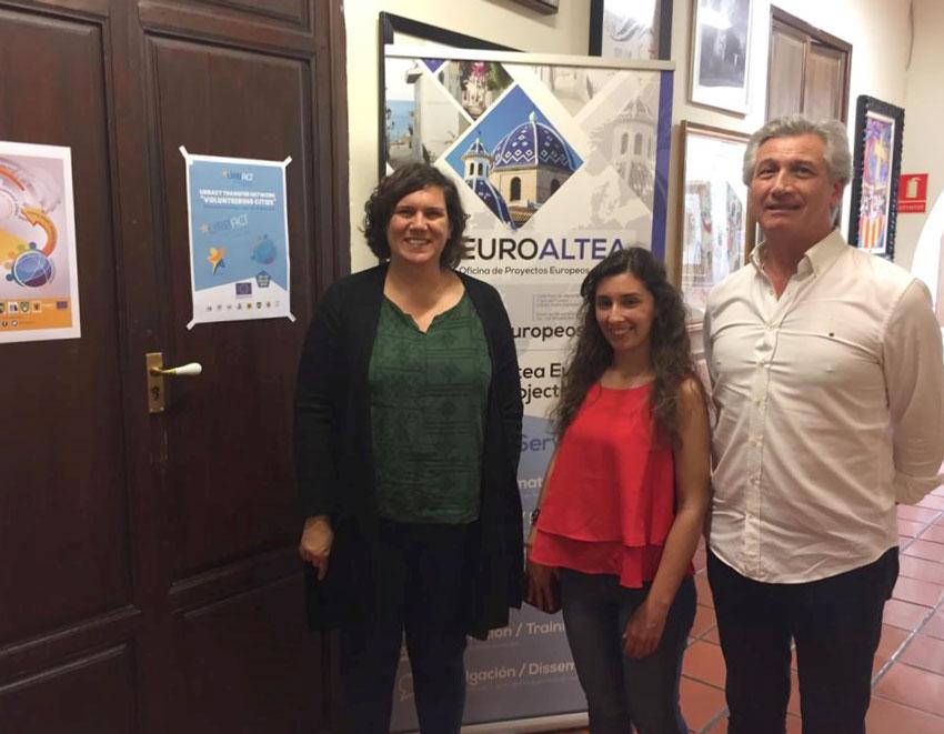 Una joven de Portugal se incorpora a la Oficina de Turismo a través del programa de prácticas formativas 'Eurodisea'