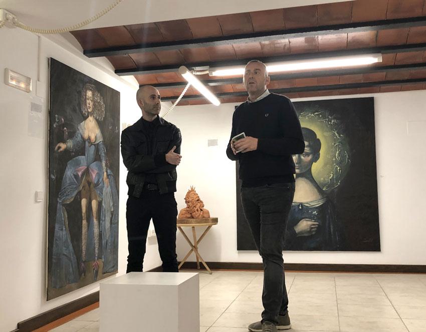 Reobri la sala d'exposicions de la Casa de Toni El Fuster, seu de la Fundació Schlotter, amb la mostra d'Israel Nicolás