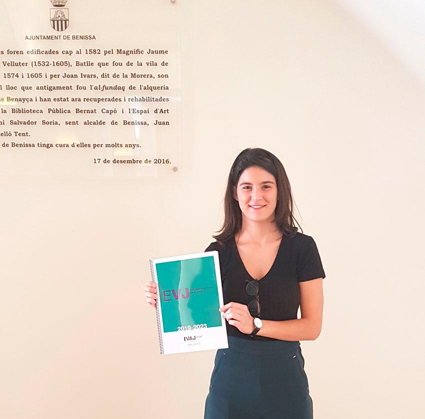 Marta Lloret participa en les Jornades de Joventut organitzades per l'IVAJ