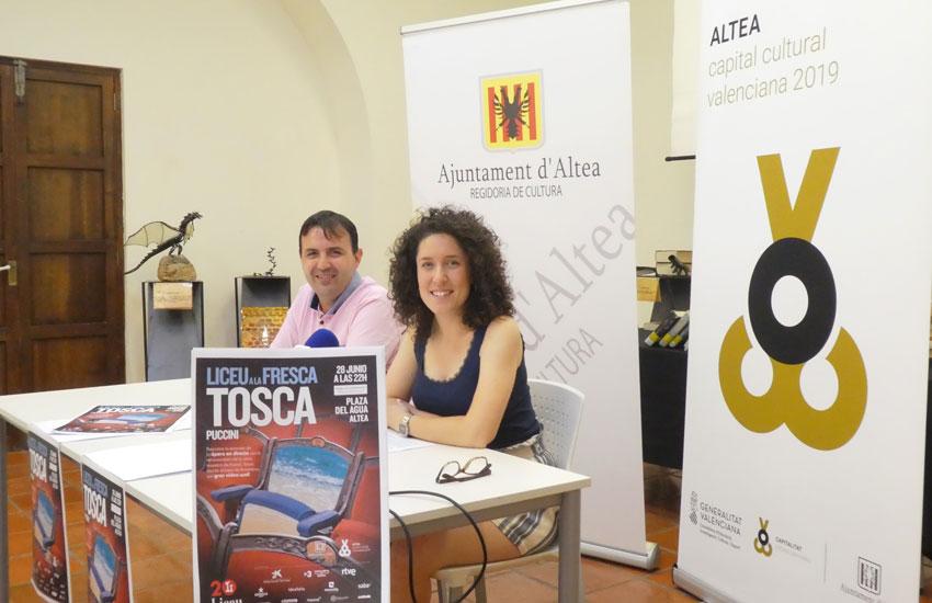 La plaça de l'Aigua projectarà el divendres l'òpera 'Tosca' de Puccini que tindrà lloc al Liceu de Barcelona