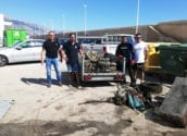 Recogen 1.600 kilos de basura y desechos de los fondos de la bahía de Altea