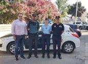 Policía Local, Guardia Civil y Gendarmería francesa se unen para dar una mejor atención al turista