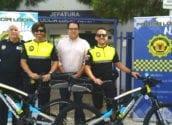 La Policia Local d'Altea incorpora bicicletes al seu parc mòbil